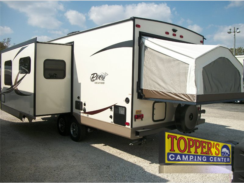 Rockwood Roo Expandable travel trailers ext2