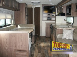 rockwood roo expandable camper travel trailer interior 2