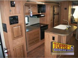 rockwood roo expandable camper travel trailer kitchen