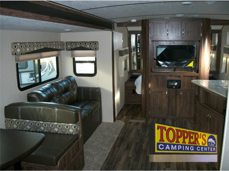 Evergreen RV iGo Pro Travel Trailer Living Area