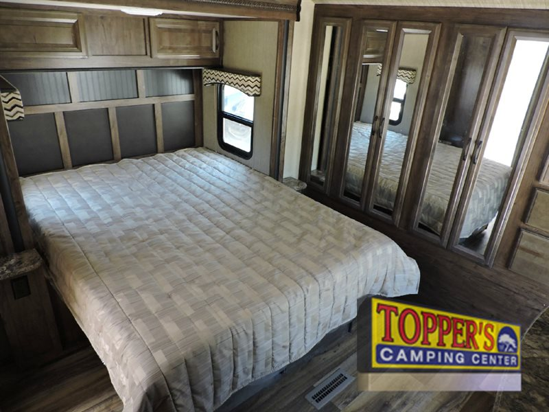 Cruiser RV Radiance Touring Travel Trailer Bedroom