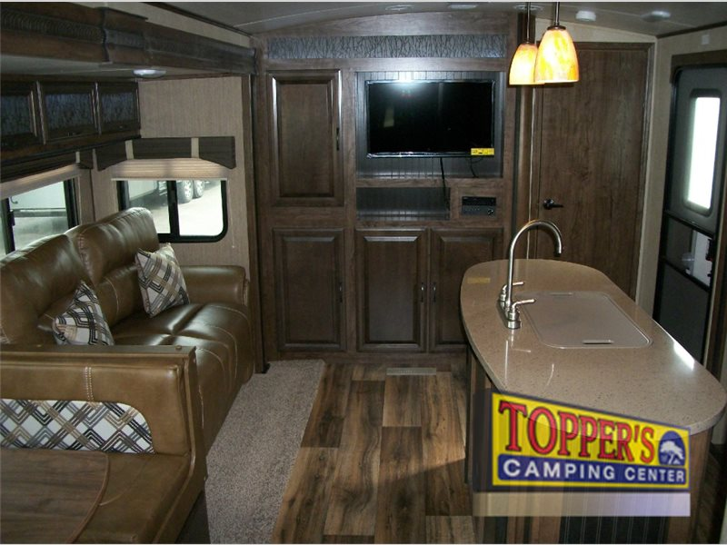 Cruiser RV Radiance Touring Travel Trailer Living Area