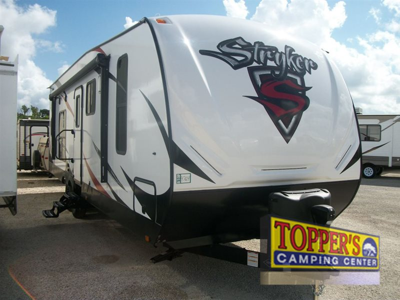 Cruiser Stryker Travel Trailer Toy Hauler Exterior