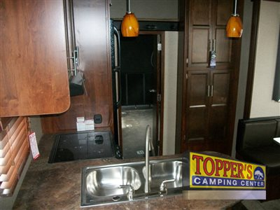 Forest River Vengeance Super Sport Fifth Wheel Living Area