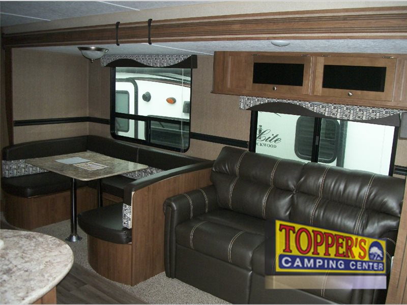 Dutchmen Aspen Trail 2810BH Travel Trailer Bunkhouse U shaped dinette