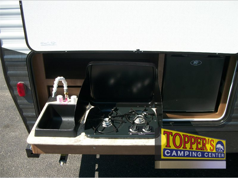 Dutchmen Aspen Trail Travel Trailer Outdoor Kitchen