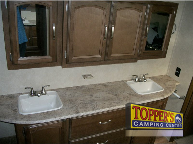 Forest River Wildwood Heritage Glen Fifth Wheel Double Sinks