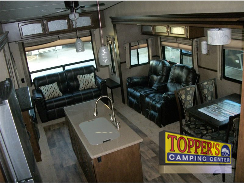 Forest River Wildwood Heritage Glen Fifth Wheel Living Area