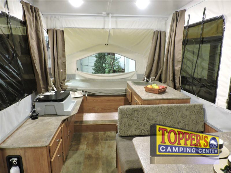 Forest River Rockwood 1940LTD Pop Up Camper Interior