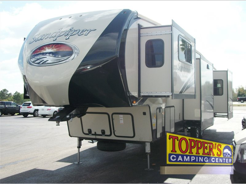 Forest River Sandpiper 377FLIK Fifth Wheel RV Exterior