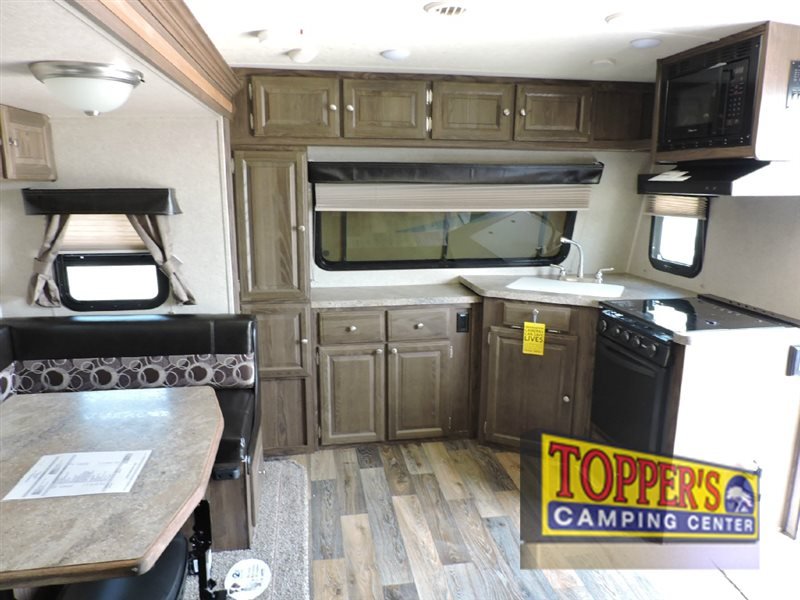 Forest River Rockwood Mini Lite Travel Trailer Kitchen