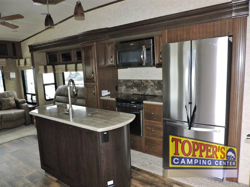 Forest River Sandpiper 378FB Fifth Wheel Kitchen