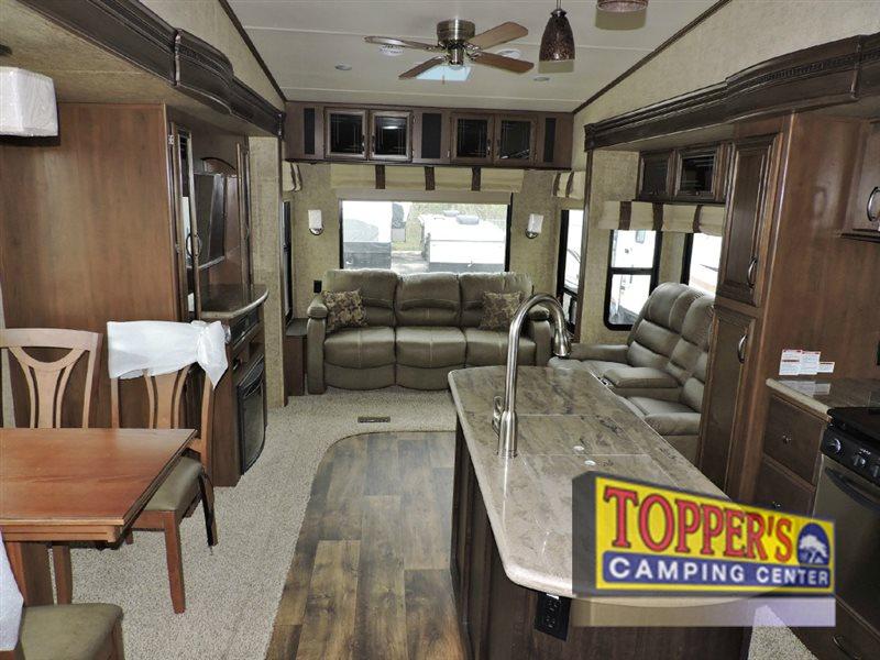 Forest River Sandpiper 378FB Fifth Wheel Living Area