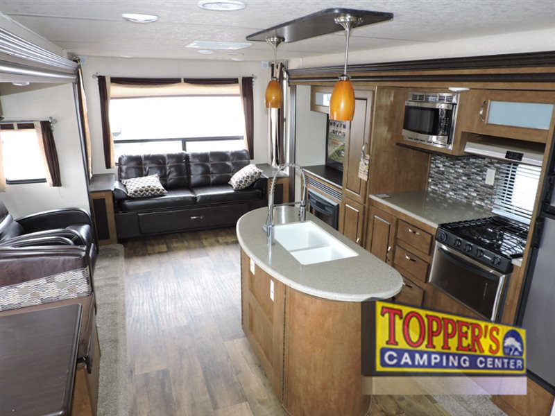 Forest River Wildwood Travel Trailer Interior