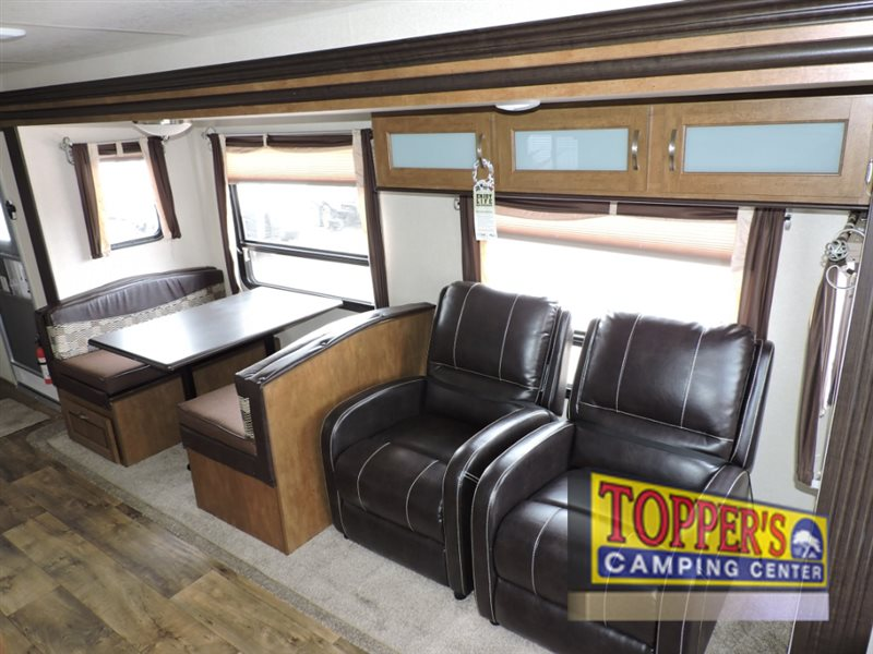 Forest River Wildwood Travel Trailer Seating