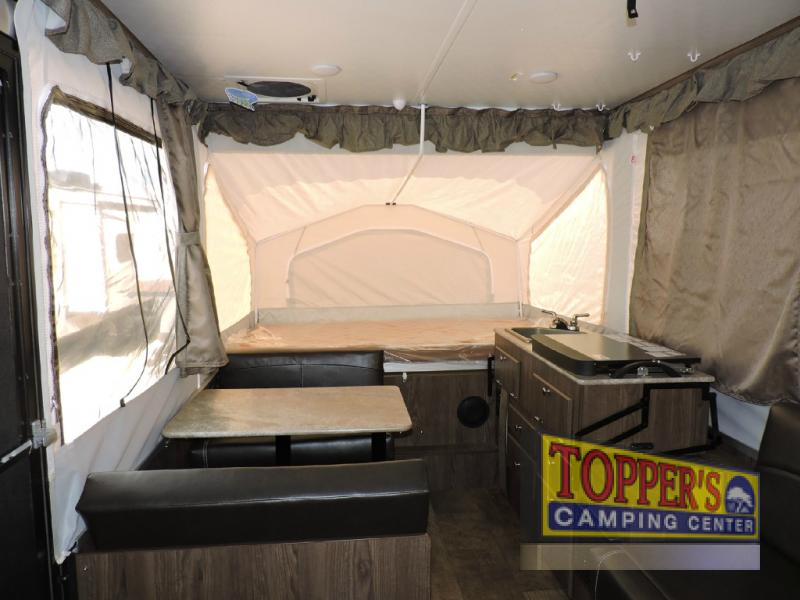 Forest River Rockwood Extreme Sports Pop Up Camper Interior
