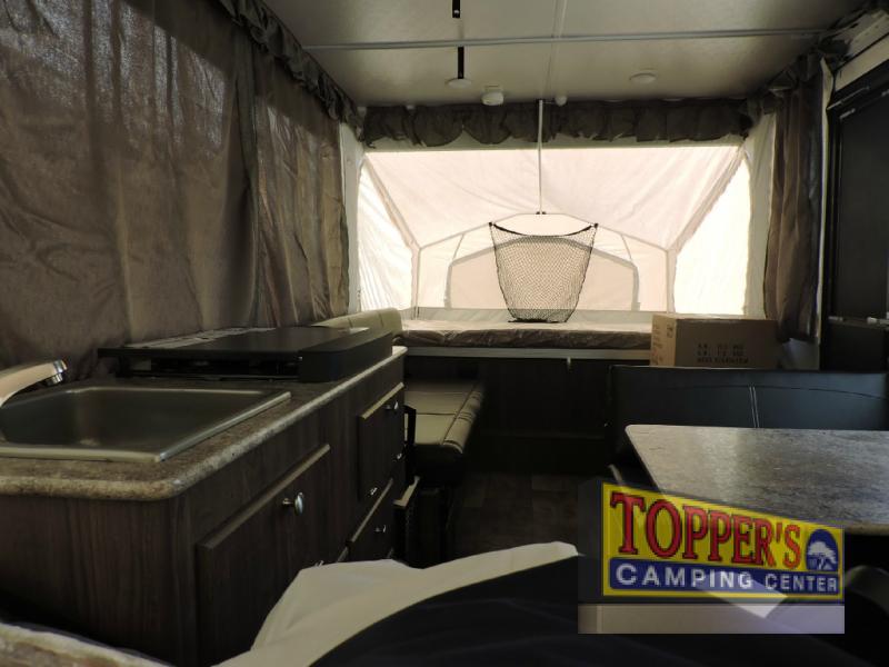 Forest River Rockwood Extreme Sprts Pop Up Camper Living Area