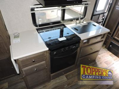 Forest River Rockwood Mini Lite 2109S Travel Trailer Kitchen
