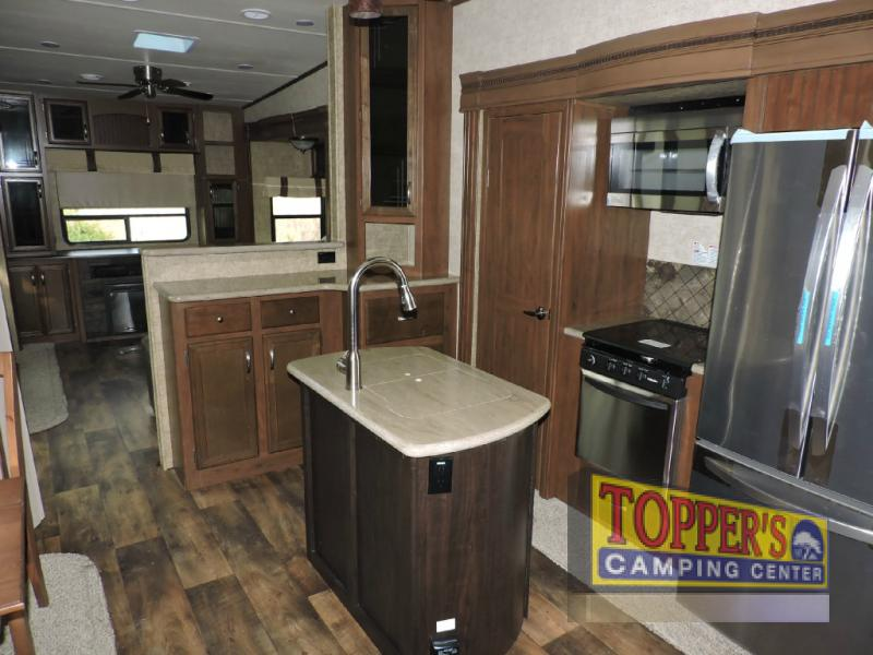Forest River Sandpiper 389RD Fifth Wheel Kitchen