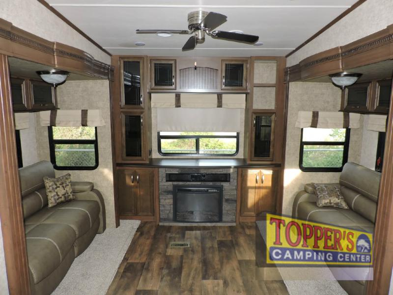 Forest River Sandpiper 389RD Fifth Wheel Rear Den