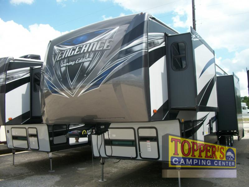 Forest River Vengeance 38L12 Touring Edition Fifth Wheel Toy Hauler