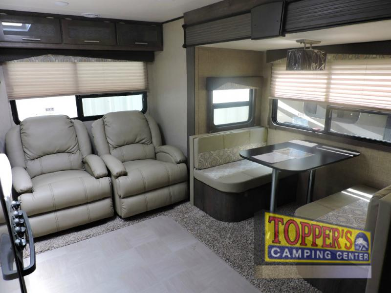 Dutchmen Kodiak 252RLSL Travel Trailer Seating