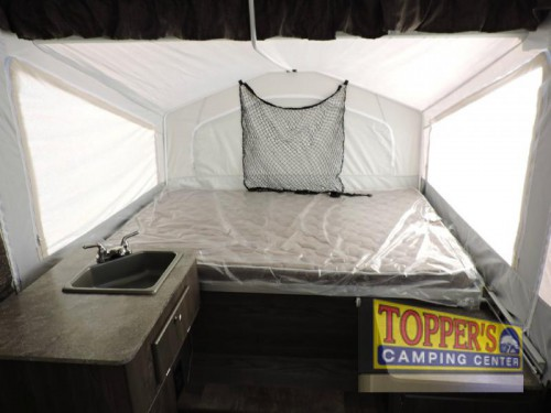 Forest River Rockwood 1640 Tent Camper Interior