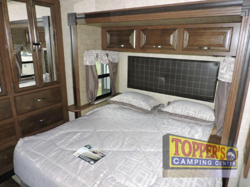 Sandpiper 377FLIK Fifth Wheel Bedroom