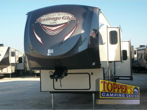 Wildwood Heritage Glen 386FBK Fifth Wheel