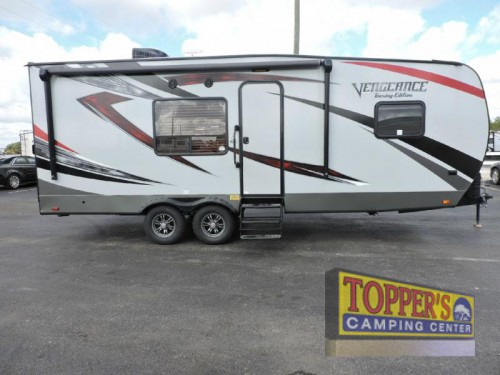 Forest River Vengeance 23FB13 Toy Hauler Travel Trailer