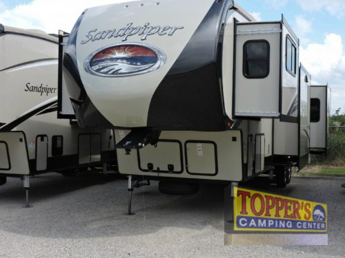new 2017 Forest River Sandpiper 377FLIK Fifth Wheel