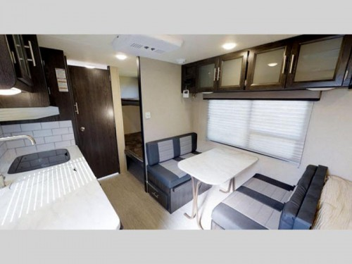 Kodiak Cub Ultra Light Travel Trailer interior