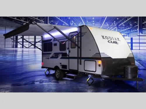 Kodiak Cub Ultra Light Travel Trailer Awning