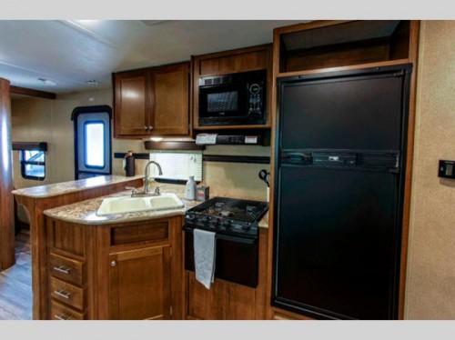 Aspen Trail 2810BHS Travel Trailer Kitchen