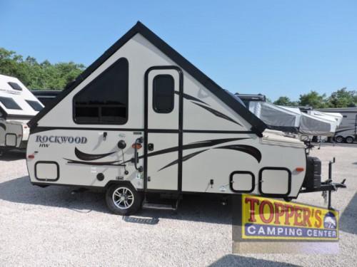 A-Frame Pop-Up Camper