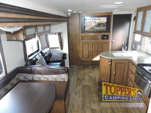 Forest River Wildwood 28CKDS Travel Trailer Interior