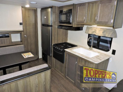 Riverside Dream Travel Trailer Interior