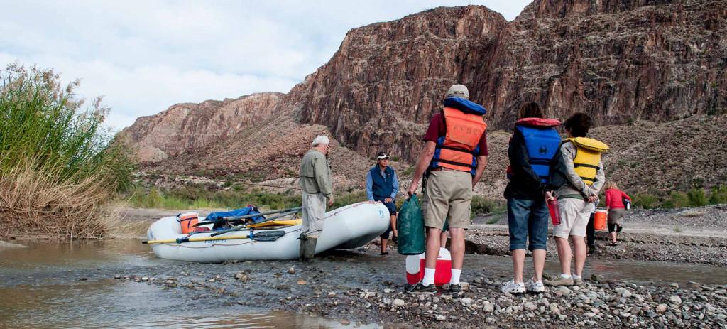 rafting at big bend ranch state parka