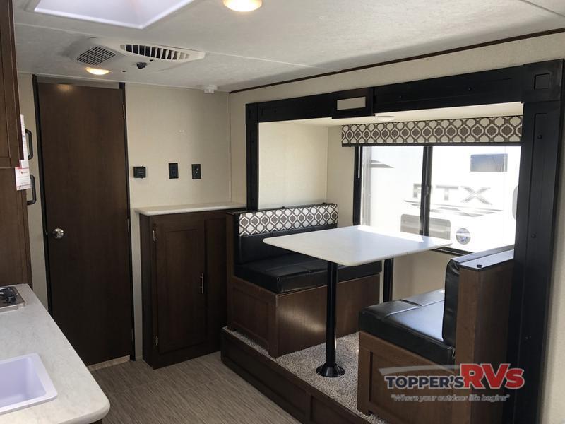 interior ptx travel trailer